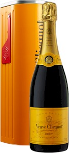 Veuve Clicquot Yellow Label Tin Mailbox Gift Box